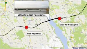Turcy zbudują nowy most. Południowy połączy Wilanów z Wawrem