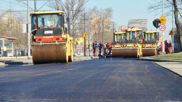 Remonty ulic w czterech dzielnicach