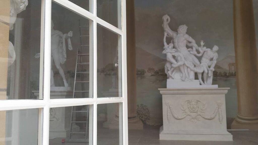Królewska Galeria Otwarta Herkules I Apollo W Starej