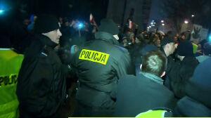 Policja: nie używaliśmy gazu, nikogo nie zatrzymaliśmy