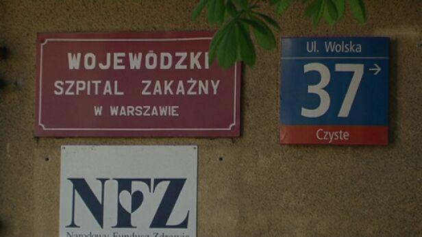 Szpital Zakaźny w Warszawie TVN24