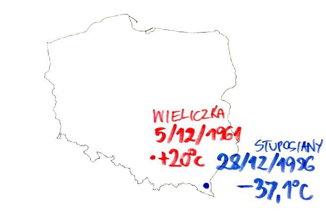 Rekordy grudniowej temperatury