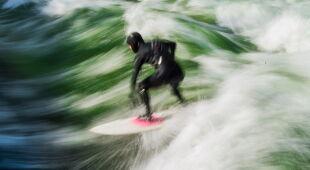 Surfer w Monachium