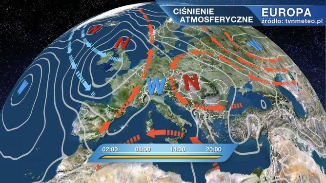 Pogodą w Polsce rządzi niż Zora