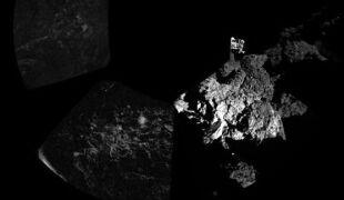 Philae wysłał pierwsze panoramiczne zdjęcie z komety