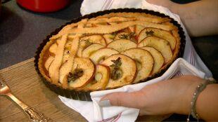 Na pochmurne dni - pyszna tarta jabłkowa z nutą tymianku