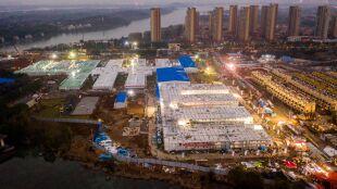 Zakończono budowę szpitala dla zakażonych koronawirusem z Chin