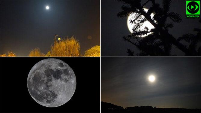 Podziwialiście superksiężyc. Rozświetlił niebo na kilka godzin