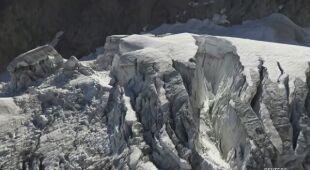 Pękł włoski lodowiec w okolicach miejscowości Planpincieux