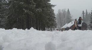 Śnieg w Zakopanem