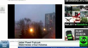 Skutki wichur w Polsce (TVN24)